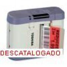 Impresora de etiquetas portátil Tec Toshiba B-SP2D